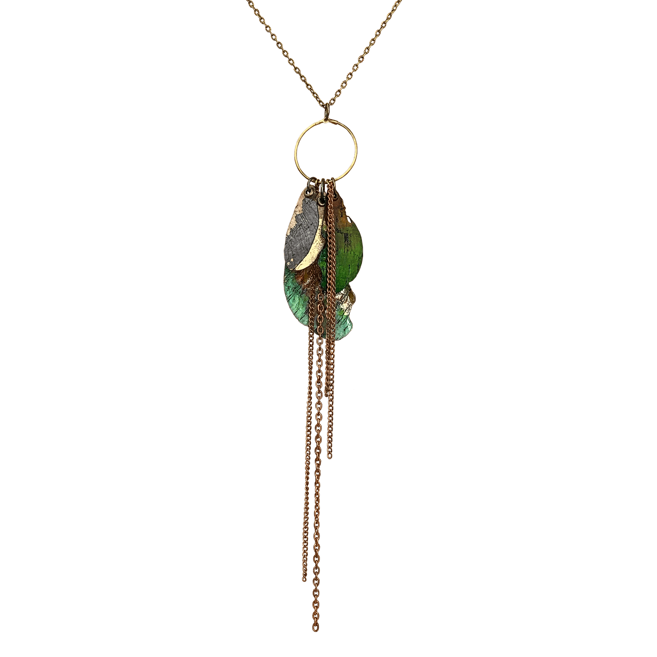 Spanish Moss Necklace