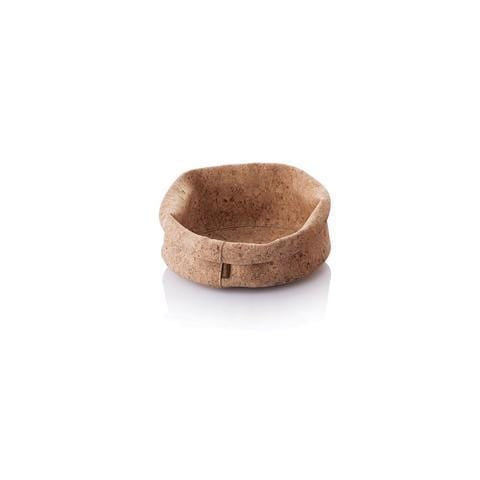 "8"" Soft Cork Adjust-A-Bowl - Naturally Anti-Microbial Hypoallergenic Sustainable Eco-Friendly Cork"