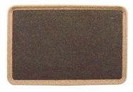Rectangular Tray - Black - Naturally Anti-Microbial Hypoallergenic Sustainable Eco-Friendly Cork