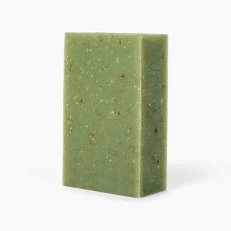 Organic Thyme + Rosemary Bar Soap - Naturally Anti-Microbial Hypoallergenic Sustainable Eco-Friendly Cork