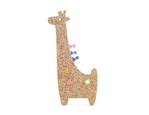 Cork Board - Giraffe - Naturally Anti-Microbial Hypoallergenic Sustainable Eco-Friendly Cork