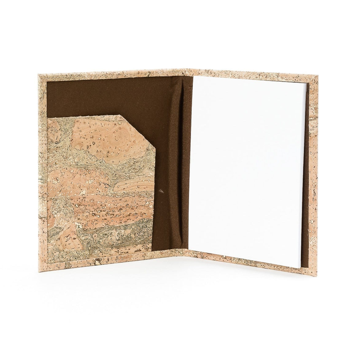 Cork Notebook Folder - Naturally Anti-Microbial Hypoallergenic Sustainable Eco-Friendly Cork