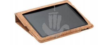 Folding Cork iPad / Tablet Case - Naturally Anti-Microbial Hypoallergenic Sustainable Eco-Friendly Cork