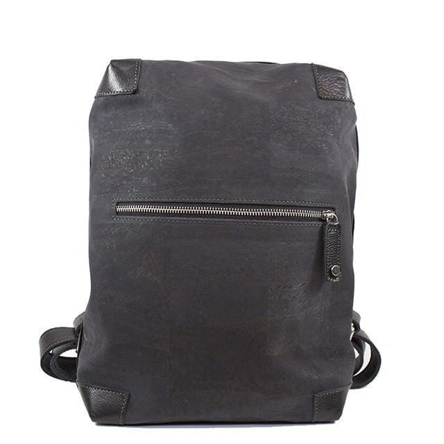 Eisenberg Cork and Leather Backpack - Naturally Anti-Microbial Hypoallergenic Sustainable Eco-Friendly Cork