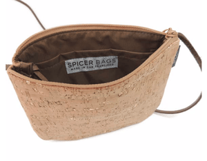 Sidekick Crossbody - Naturally Anti-Microbial Hypoallergenic Sustainable Eco-Friendly Cork