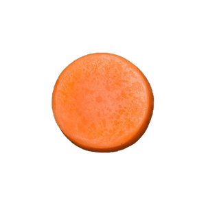 Humby Organics - 1.7 oz. Mango Breeze Hair Conditioner Bar - Naturally Anti-Microbial Hypoallergenic Sustainable Eco-Friendly Cork