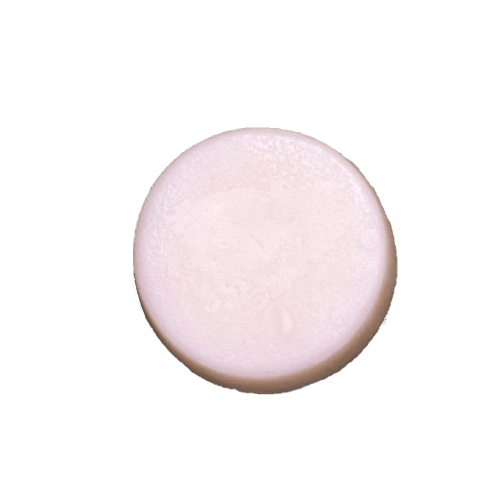 Humby Organics - 1.7 oz. Peppermint Shine Hair Conditioner Bar - Naturally Anti-Microbial Hypoallergenic Sustainable Eco-Friendly Cork