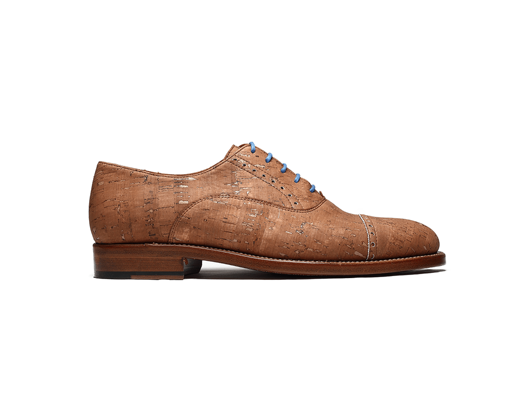 Men's Classic Cork Oxford - Naturally Anti-Microbial Hypoallergenic Sustainable Eco-Friendly Cork