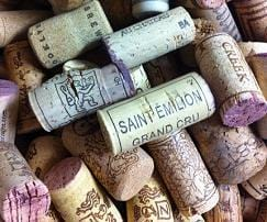 Recycled Wine Corks - Set of 5 - Naturally Anti-Microbial Hypoallergenic Sustainable Eco-Friendly Cork