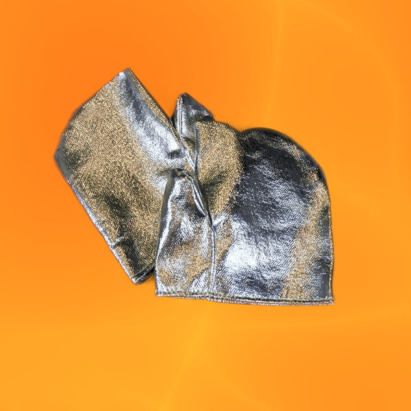 Aluminized Closed Top Cover Mitts 9