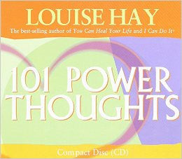 Audio Book, Affirmations, 101 Power Thoughts CD, Louise Hay