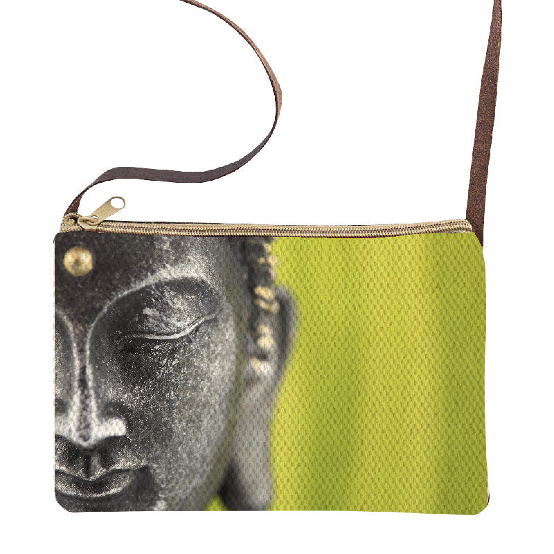 Hand Crafted Buddha Sling Purse