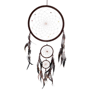 Dream Catcher-Double Rainbow with Crystals Dream Catcher