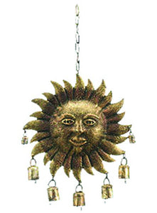 Hand Forged Sun Chime