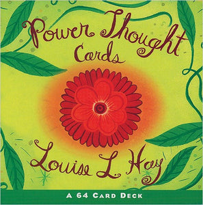 Power Thought Cards: A 64-Card Deck by  Louise Hay