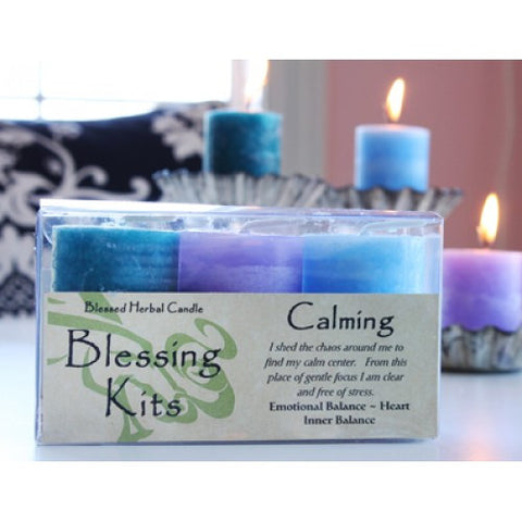 Reiki Charged Hand Poured Essential Oil Infused  Calming Blessing  Candle  Kit