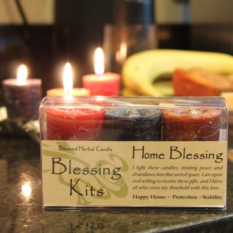 Reiki Charged Hand Poured Essential Oil Infused Home Blessing Candles