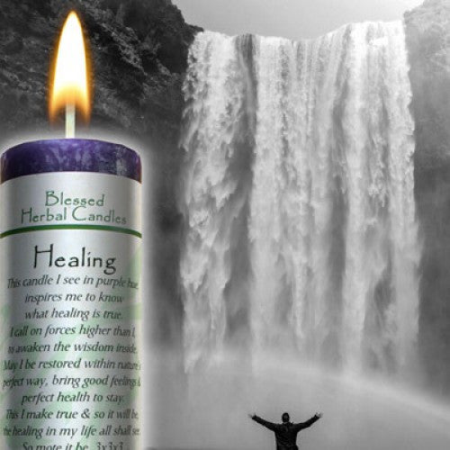 Candle-Reiki Charged Hand Poured Essential Oil Infused  Healing Blessed Candle