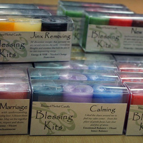 Reiki Charged Hand Poured Essential Oil Infused  Matchmaker Candle Blessing Kit