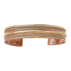 Copper and Metal Handcrafted Fair Trade Bracelet