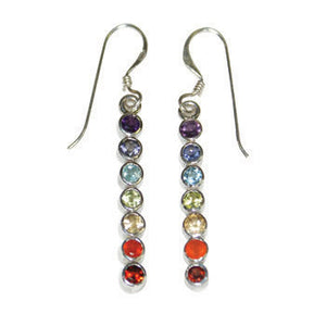 Earrings - Sterling Fair Trade Handmade Chakra Centering Earrings