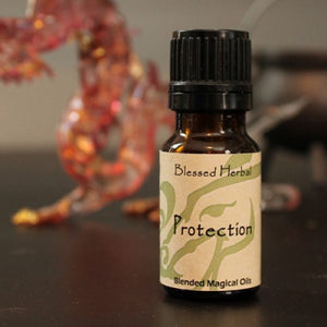 Essential Oils-Protection Blessed Herbal Oil