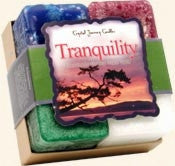 Candle Gift Set-Reiki Charged Hand Poured Essential Oil Infused Tranquility Candle Gift Set