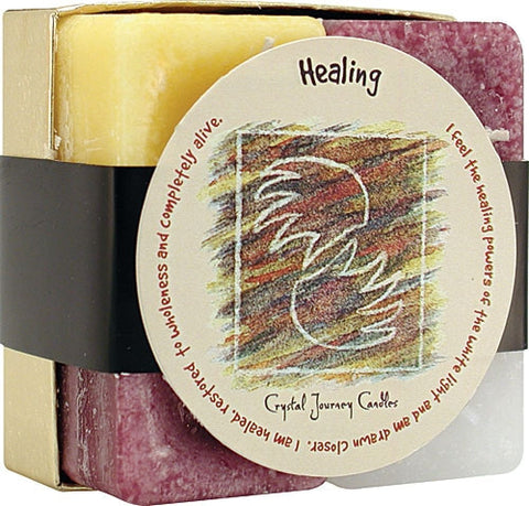 Candle Gift Set-Reiki Charged Hand Poured Essential Oil Infused Healing Candle Gift Set