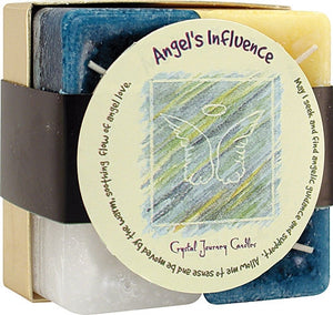 Candle Gift Set-Reiki Charged Hand Poured Essential Oil Infused Angels Influence Gift Set