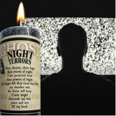Night Terror Candle : Limited Edition Reiki Charged Hand Poured Night Terror Candle
