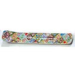 Incense Holder Fair Trade -Exquisite Kashmiri handpainted Flower Medley Design