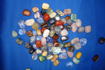 Quartz Crystal Healing Tumbled Stones - mixed