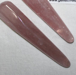 Rose Quartz Faceted Wand