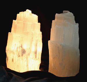 Selenite Crystal Healing Light