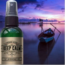 Keep Calm & Lavender On Essential Oil Room Spray