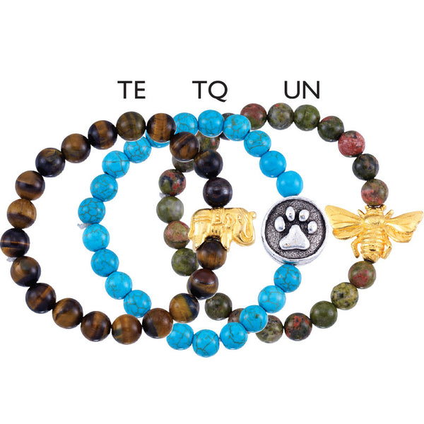 Energy Bracelets - Metaphysical Gemstone and Bead Energy  Healing Bracelets