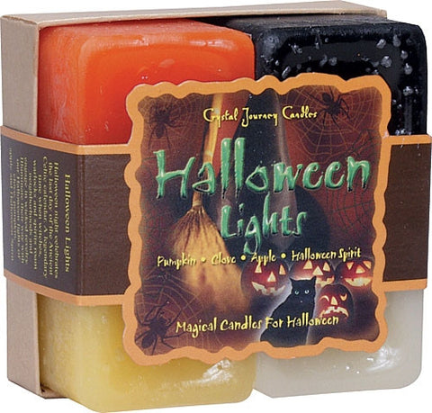 Candle Gift Set-Reiki Charged Hand Poured Essential Oil Infused Halloween  Lights Candle Gift Set