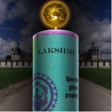 Lakshmi Hand Poured Essential Oil and Herb Infused Healing Candle
