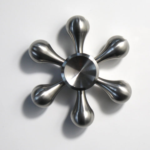 The Sleek Silver Spinner
