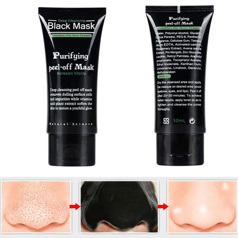 Blackhead Remove Facial Masks Deep Cleansing Purifying Peel Off