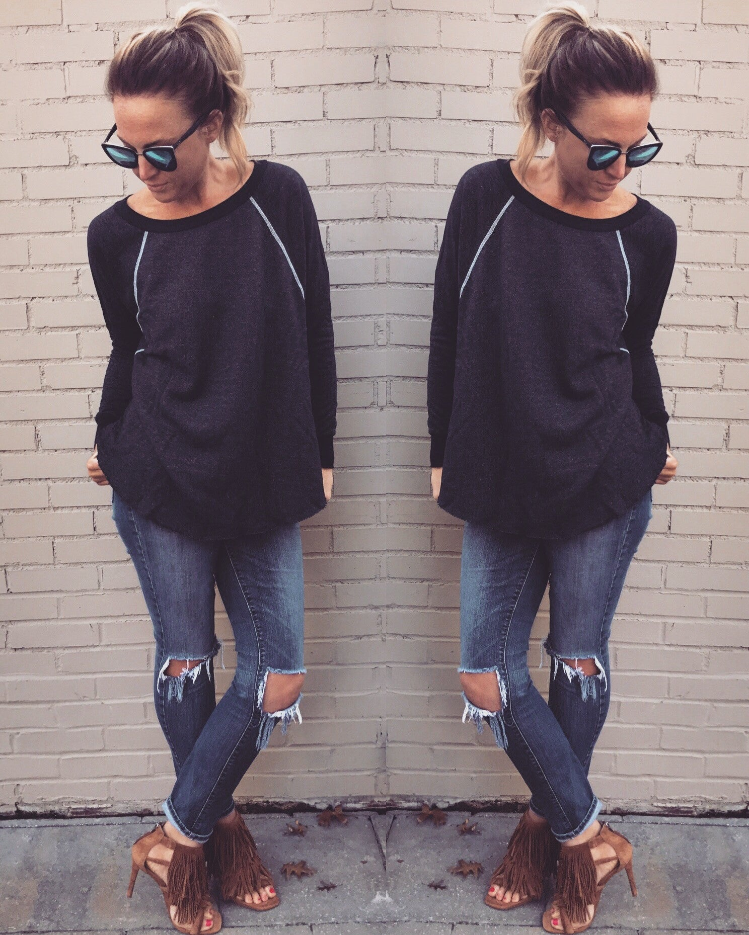 Chic Happens Sweatshirt
