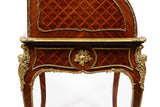 AN EXCEPTIONAL 19TH CENTURY FRENCH ROLL TOP DESK - REF No. 3007
