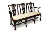 A 19TH CENTURY SETTEE BY BUTLER OF DUBLIN - REF No. 8006