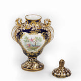 AN EXHIBITION MINTON VASE - REF No. 166