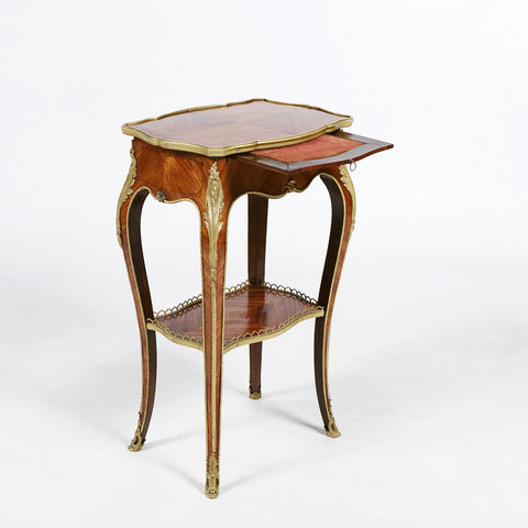 A FINE 19TH CENTURY SATINWOOD TABLE AMBULANTE - REF No. 7081