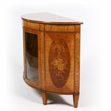 AN EXCEPTIONAL SATINWOOD COMMODE BY J. HICKS OF DUBLIN - REF No. 4032