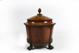 AN EXCEPTIONAL GEORGE III MAHOGANY CELLARETTE - REF No. 168