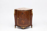 A FINE GEORGE III ORMOLU MOUNTED & KINGWOOD ENCOIGNURE - REF No. 4017