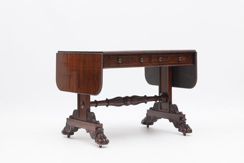 A VERY FINE GEORGE III PEMBROKE TABLE - REF No. 7060