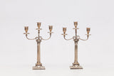 A PAIR OF ELKINGTON & CO. CANDELABRA - REF No. 159